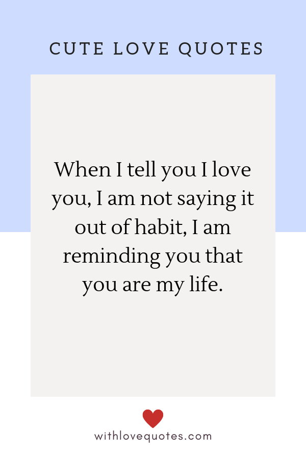 30 I Love You Quotes for Him